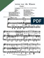Mozart Zaide Tiger Wetze Nur Die Klauen