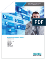 Matrix PBX Product Catalogue