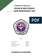Preservasi &Restorasi Bangunan-bangunan Tua