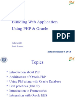 13008_PHP & Oracle