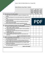 ES1103 Rubric for Problem Solution Essay_Student Version_FINAL