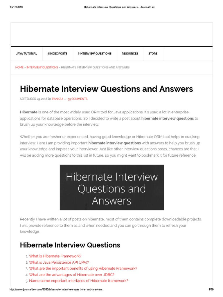 Jsf Interview Questions Answers Pdf