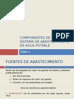 04. Componentes de Un Sistema de Abastecimiento de Agua