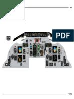 MD80 Cockpit Main panel
