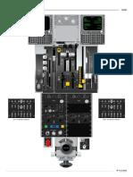 MD80 Cockpit Pedestal