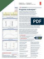 Programa Inclinalysis ICB0051A