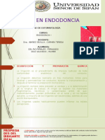 Irrigantes en Endodoncia (2)