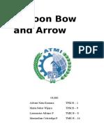 Balloon Bow and Arrow