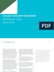 Google Consumer Barometer Internet en cifras 2012-2016