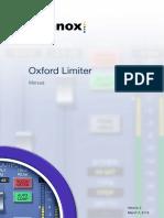 Oxford Limiter Manual
