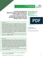Asociacin Entre El Trastorno Pordficit de Atencin e Hiperactividad Yla Rinitis Alrgica Una Revisin