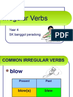 139739036 Grammar Irregular Verbs Simple Past Tense