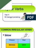 139739036 Grammar Irregular Verbs Simple Past Tense