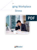 Managing Workplace Strees