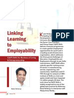 Linking Learning to Employability