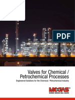 Brochure Valves for Chemical and Petrochemical Processes