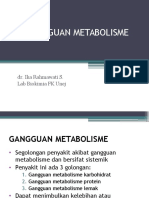 Gangguan-metabolisme Bahan Mantap