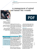 Journal 060117The Management of Animal and Human Bite Wounds