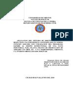 Aplicacion Del Metodo de Diseño Lrfd _(Load Reduction, Factor Design
