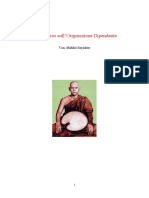 Originazione Dipendente, Un Discorso Di Mahasi Sayadaw