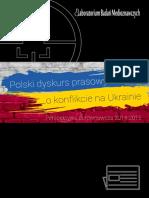 Polski dyskurs prasowy o konflikcie na Ukrainie. Perspektywa porównawcza 2014-2015