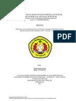 Perlindungan Hukum Bagi Pekerja Kontrak