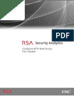 Configure SFTP Shell Script File Transfer