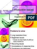 Deal With Production Issues Itil Way