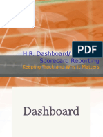 HR Dashboard Exsample