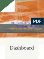 HR Dashboard Exsample