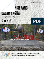 Kabupaten Serang Dalam Angka 2016