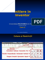 Initiere in Inventor - Curs 02.pps