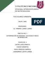 Determinacion de Densidad Viscosidad e Indice (1)