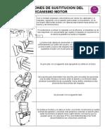 Instrucciones Cambio Mecanismo Motor módulo relax