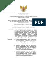 Permen PU No 3 Tahun 2013 - Penyelenggaraan PS Persampahan