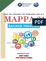 Mappa 21 - Bahasa Inggeris