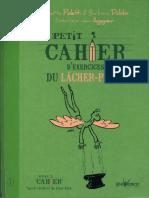 Petit Cahier Exercice Lacher Prise R.poletti B.dobbs 2013