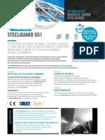 Fiche Produit Steelguard 651