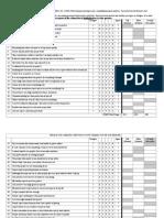 Hewitt Flett Perfectionism Scale