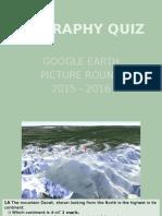 google earth quiz 2015 16