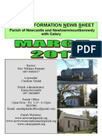 Newcastle Church Of Ireland Parish News March 2017