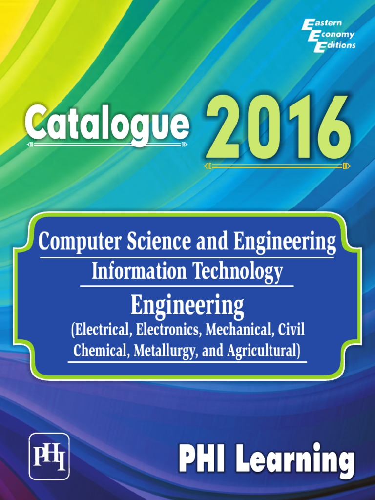 PHI-LEARNING-Computer-Science-IT-Engineering-Electrical-Electronics ...