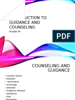 Introduction to Counselling and Guidence