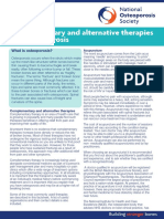 Complementary and Alternative Therapies SEP 2013