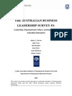 4.Australian Leadership Survey