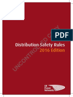 Distribution Safety Rules 2016