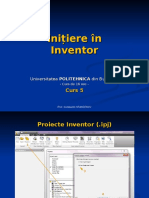 Initiere in Inventor - Curs 05.pps