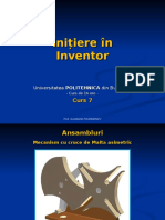 Initiere in Inventor - Curs 07.pps