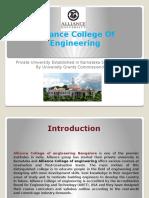 Alliance College of Engineering