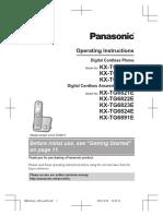 Panasonic Cordless KX-TG6811